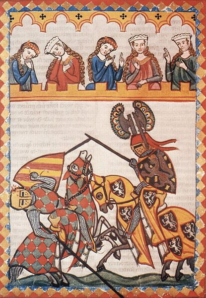 jousting medieval knights