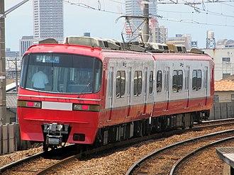 Meitetsu 1800 series - Set 1808 in July 2017