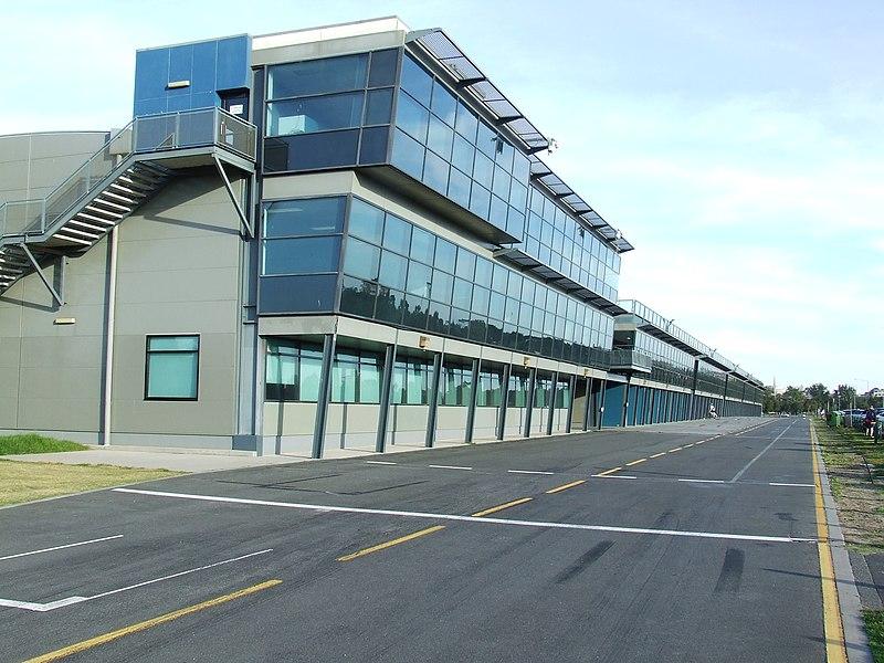 Phillip Island Pit Garages
