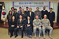 Members with the Bupyeong-gu Korean American Friendship Council pose for a group photo during a meeting in Yongsan, South Korea, Nov. 27, 2013 131127-A-PA123-003.jpg