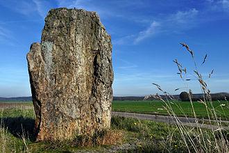 Derenburg - Menhir near Derenburg