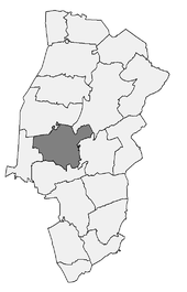 Meppen in the Emsland district