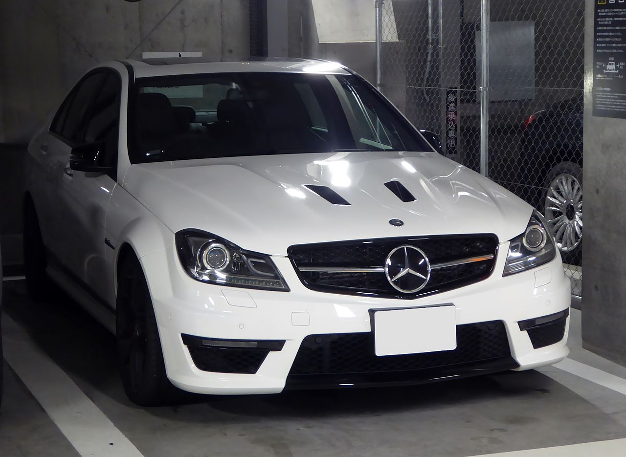 file mercedes benz c63 amg edition 507 w204 front jpg wikimedia commons. Black Bedroom Furniture Sets. Home Design Ideas