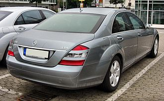 Mercedes-Benz S-Class (W221) - Pre-facelift Mercedes-Benz S 320 CDI (Germany)