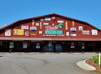 Weston, Georgia - Image: Merritt Pecan Co and General Store; Weston, GA