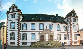 Merzig - Town hall in Merzig