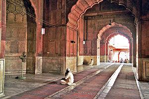 Jama Masjid, Delhi - Image: Mesquita Jama Delhi