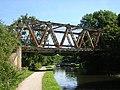 Metal bridge, west of Field Locks near Esholt - geograph.org.uk - 41494.jpg
