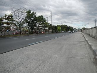 Circumferential Road 5 - C-5 Road at the intersection with Diego Silang Street in Taguig.