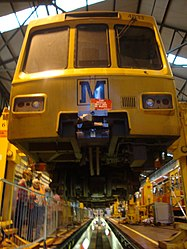 Metrocar 4033, Tyne and Wear Metro depot open day, 8 August 2010 (2).jpg