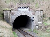 South portal of the Mettericher tunnel
