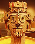 Mexico - Museo de antropologia - Dieu de l'eau.JPG