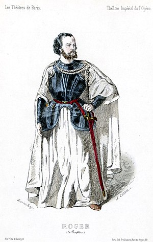 Gustave-Hippolyte Roger - Roger as John of Leiden in the original production of Le prophète