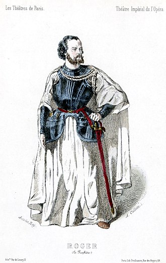 Le prophète - Gustave-Hippolyte Roger as Jean de Leyde in the original production of Le prophète