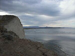 Playa de cabo San Jorge - Provincia de Chubut