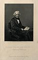 Michael Faraday. Engraving by D. J. Pound, 1858, after Mayal Wellcome V0001864.jpg