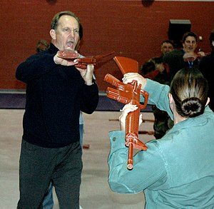 Michael O'Neill (actor) - Michael O'Neill practices some self-defense tactics at Lackland Air Force Base in 2006