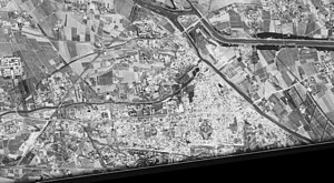 Tongzhou District, Beijing - Satellite image of part of Tongzhou District. (1967-09-20)