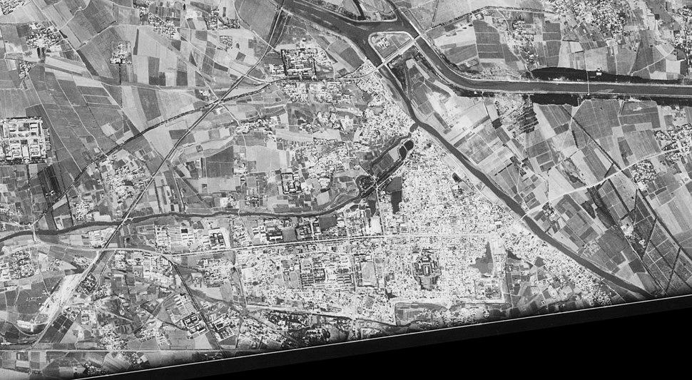 Middle of Tongzhou District, Beijing - satellite image (1967-09-20)