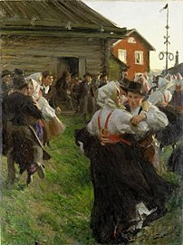 Midsummer's Eve by Anders Zorn.