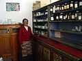 Midwife Wo Ma Clinic Damxung County, Tibet, 2003. Photo- AusAID (10697702345).jpg