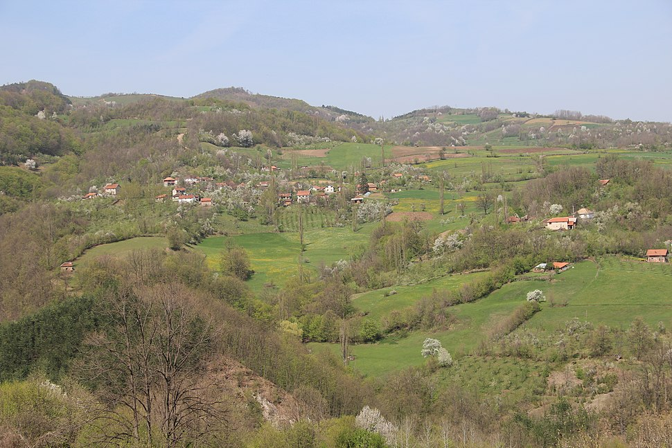 Mijači - opština Valjevo - zapadna Srbija - panorama 6