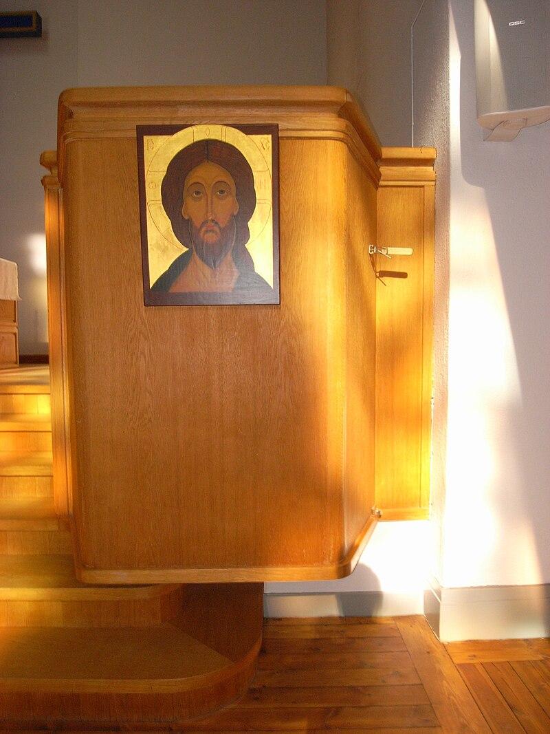 Mikaelskapellet interiör Kristus Ikon 01.jpg