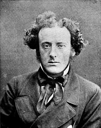 John Everett Millais - Photo of Millais, c. 1854