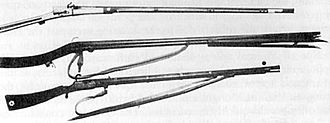 Military conquests of the Ming dynasty - Ming-era matchlock firearms used in the 15th to 17th centuries.