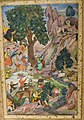 Miniature from the Akbar-nama, India, ca. 1590, The David Collection, Copenhagen (2) (36407756205).jpg