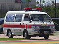 Mitsubishi Delica ambulance E6-5821 of Fire Bureau, Penghu County Government 20110608.jpg