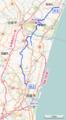 Miyazaki prefectural route 44 (OpenStreetMap).png