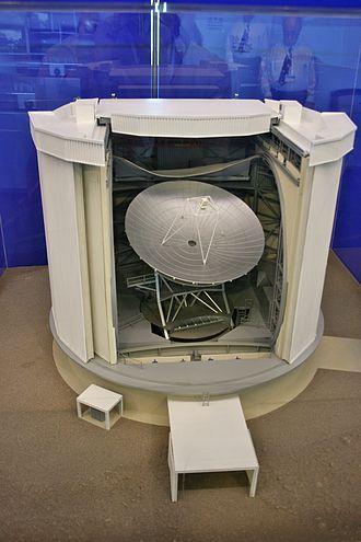 James Clerk Maxwell Telescope - Scale model of JCMT