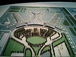 Model of Tianjin Binhai International Airport.jpg