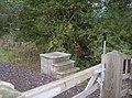 Modern mounting block - geograph.org.uk - 597514.jpg