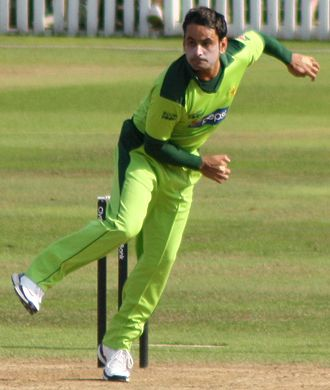 Mohammad Hafeez - Mohammad Hafeez in 2010