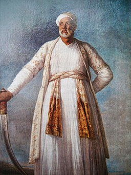 Mohammed Dervish Khan by Elizabeth Vigee Lebrun