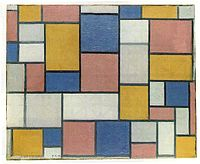 Mondrian, Composition with color planes and gray lines, 1918.jpg