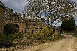 Montacute Priory human settlement in United Kingdom