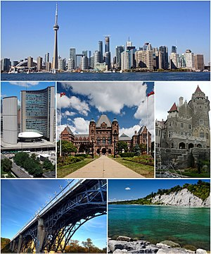Toronto - Image: Montage of Toronto 7