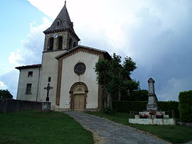 The church of Montagne