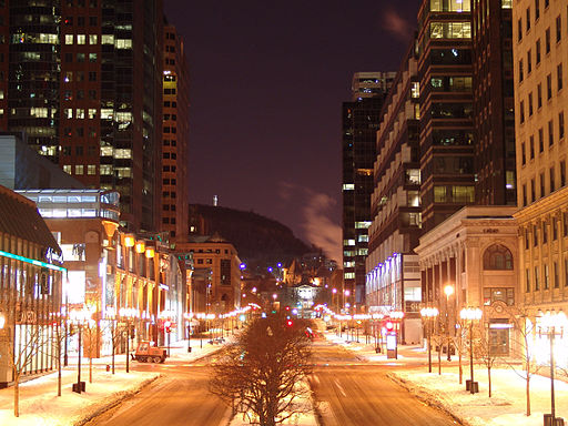 Montreal - McGill College st.