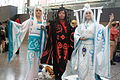 Montreal Comiccon 2015 - Raava times two and Vaatu (18857671723).jpg