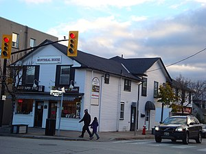 Streetsville, Mississauga - Montreal House, the first general store in Streetsville, was founded in 1821