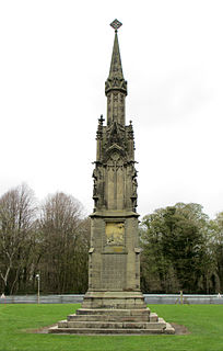 Monument to Captain John Francis Egerton
