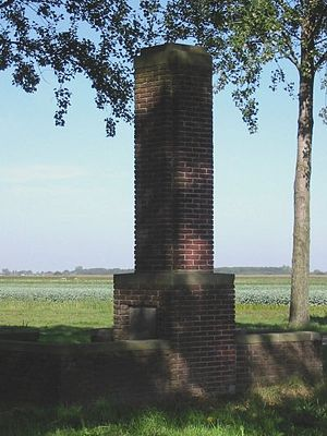 Jacobswoude - Monument to the lost village of Jacobswoude.