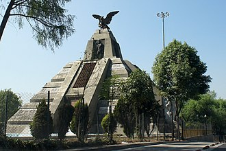 La Raza - The Monumento a La Raza at Avenida de los Insurgentes, Mexico City by Jesús Fructuoso Contreras (inaugurated 12 October 1940).