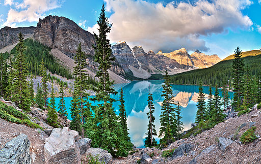 Moraine Lake two