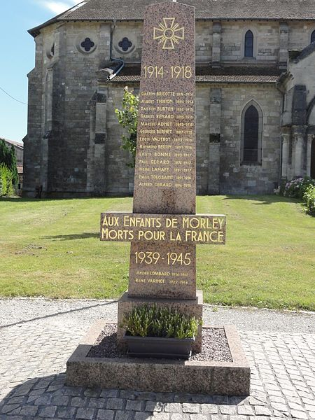 Morley (Meuse) monument aux morts