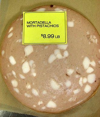 Mortadella - Mortadella with pistachios